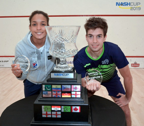 A Squash Sweep For France